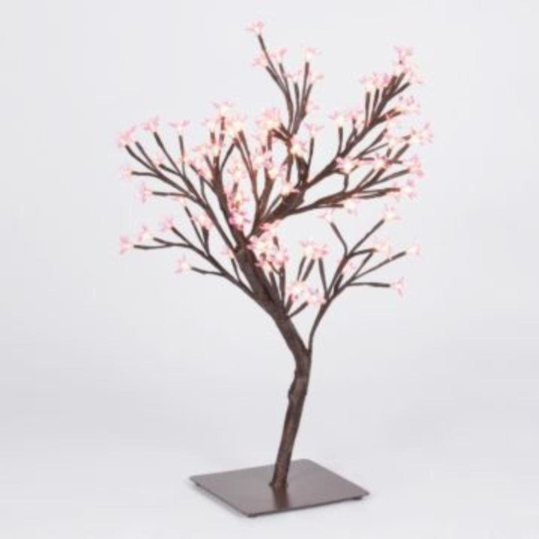 Pink Cherry Blossom Tree Bonsai 24 H Artificial Decor Pink Nearly Natural Flower Home Bota Cherry Blossom Tree Pink Cherry Blossom Tree Artificial Trees Decor