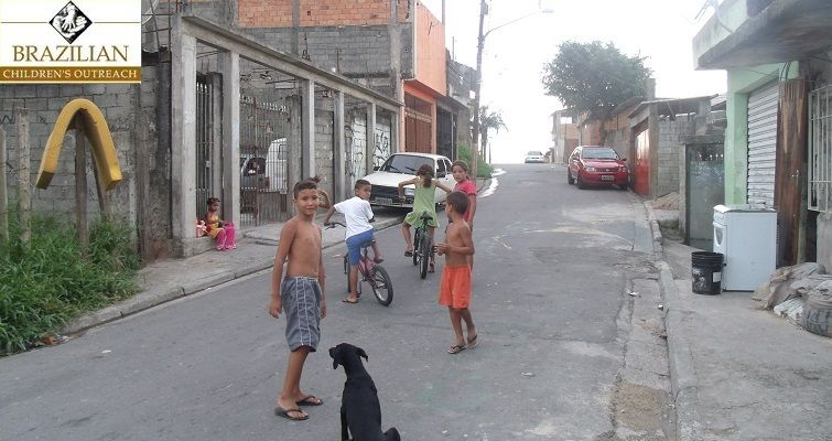 Brazilian Childrens Outreach Street view, Street, Brazilians