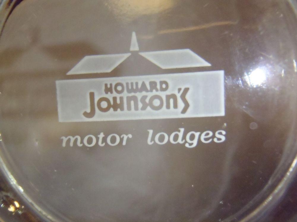 VTG Howard Johnson's Motor Lodge Ashtray Motel Hotel