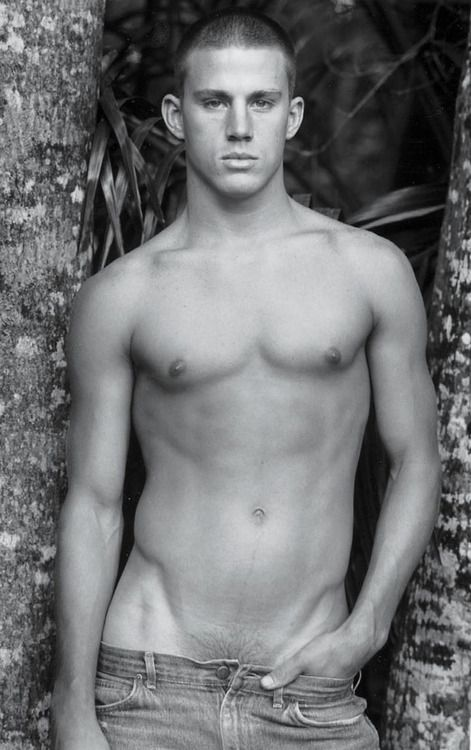 Early Channing Tatum by Bruce Weber. He had pubic hair D: