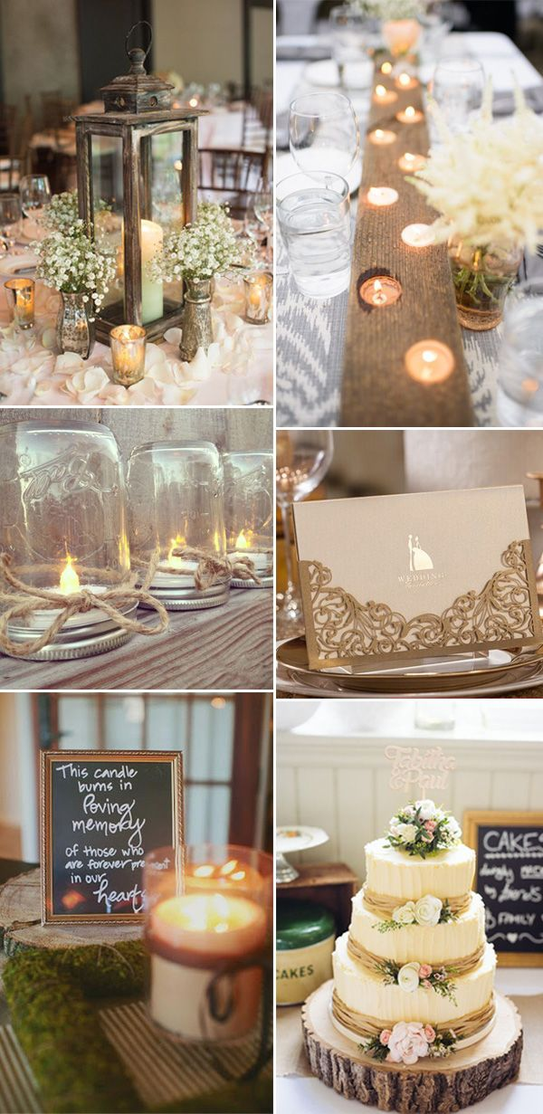 48 great ways to make 2017 rustic weddings more elegant and chic rh pinterest com