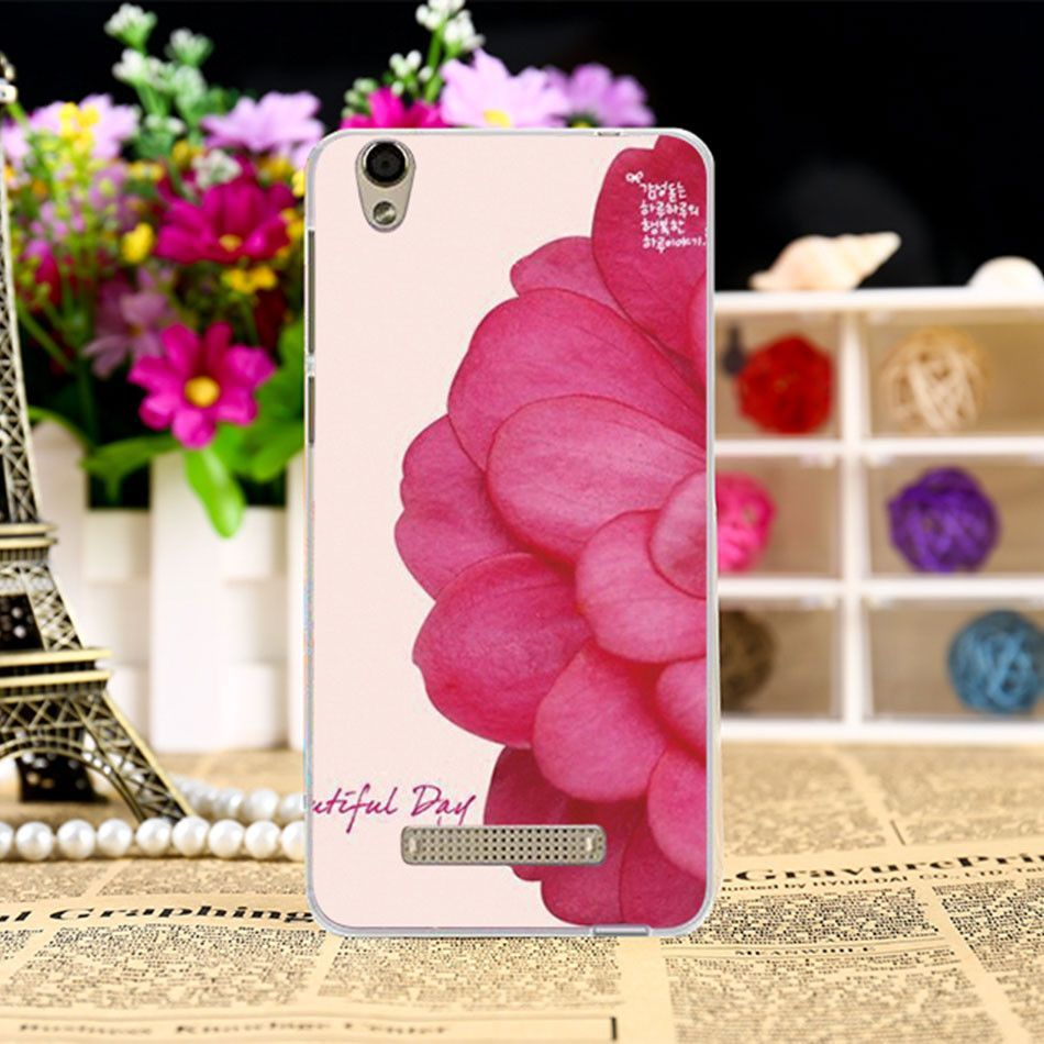 Soft Silicon TPU Phone Covers Cases For ZTE Blade X3 D2 T620 5 inch Cases Rose leaf Protective Bags Painted Shell back cover