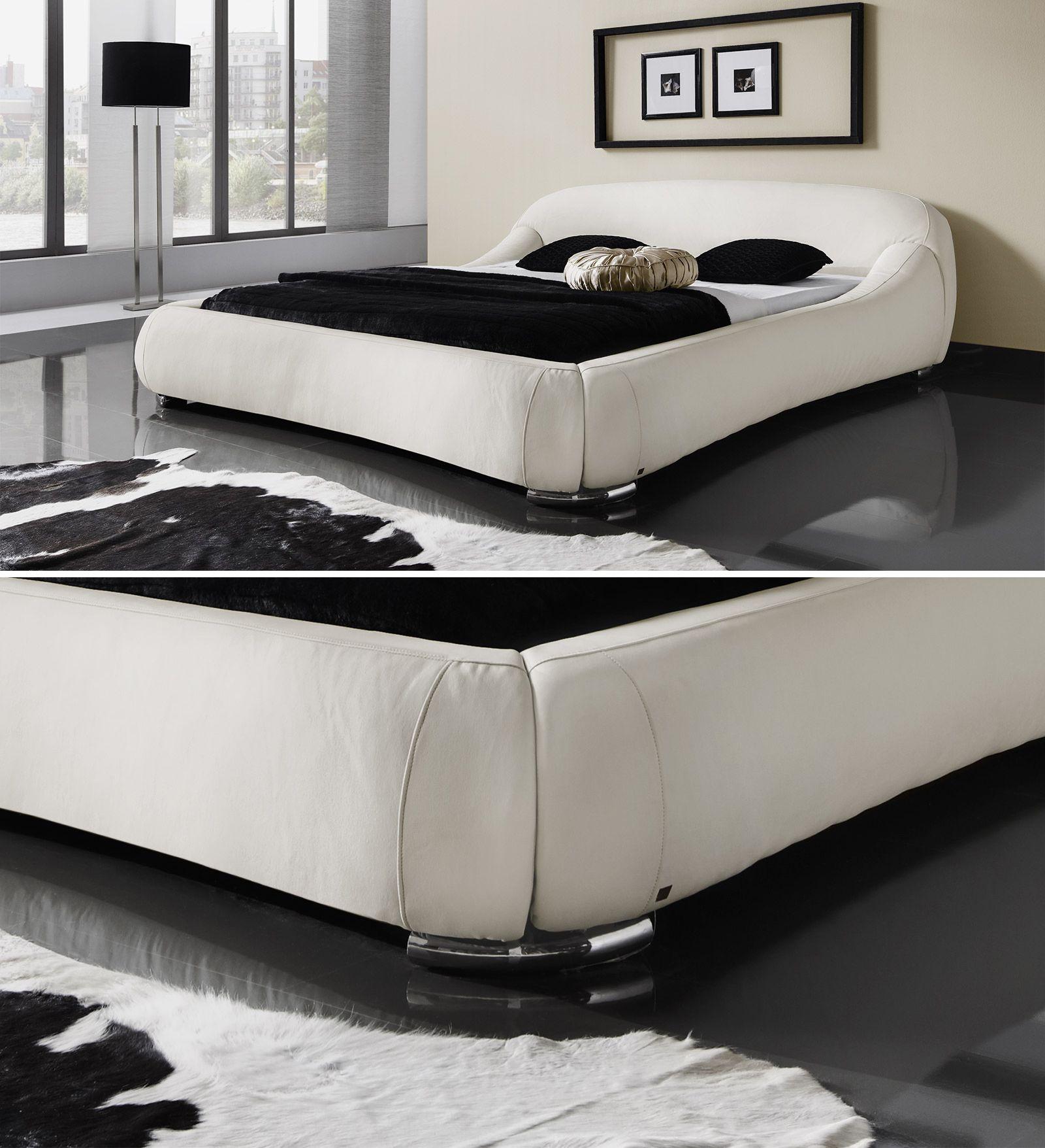 Moderne Polsterbetten futuristisches designerbett exklusiv bei betten de erhältlich