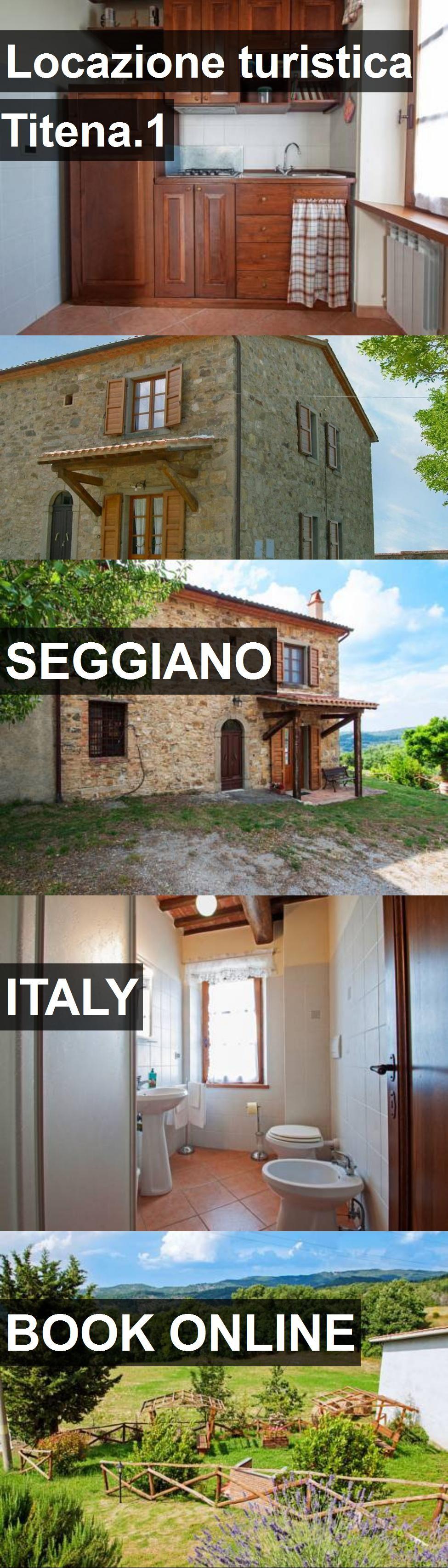 Hotel Locazione turistica Titena.1 in Seggiano, Italy. For