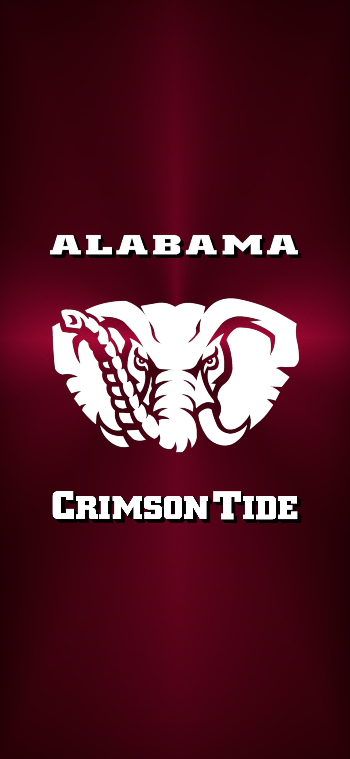 Bama Logo 2 Metal Alabama Crimson Tide Logo Alabama Crimson Tide Football Wallpaper Alabama Crimson Tide
