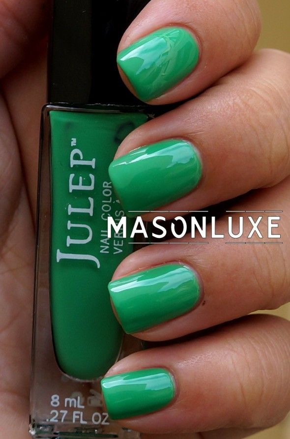 kelly green nails #beauty #IGIGI #IGIGIBeauty | Beauty | Pinterest ...