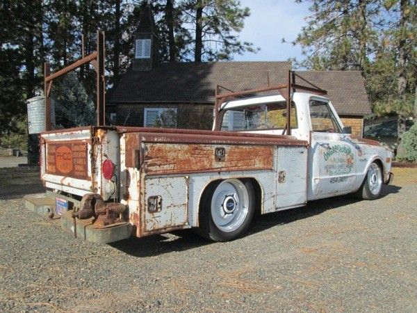 Awsome C10 Work Truck Shop Truck Utility Truck