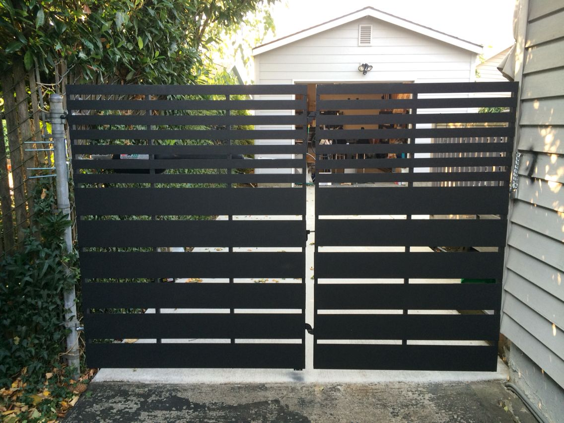 Modern Metal Gate 8ft By 5ft Metal Gate By Bogdan