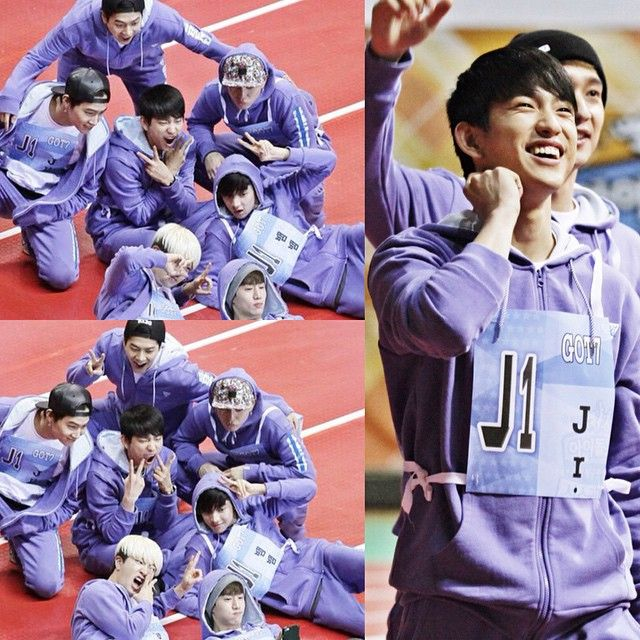 """; 150219 MBC Official Website update #GOT7 2015 MBC Idol Star Athletic Championship"""