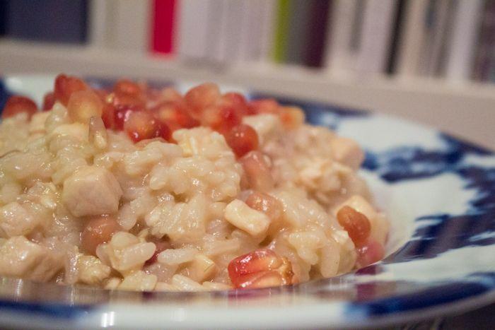 Risotto+pesce+spada,+melagrana+e+buon+San+Valentino