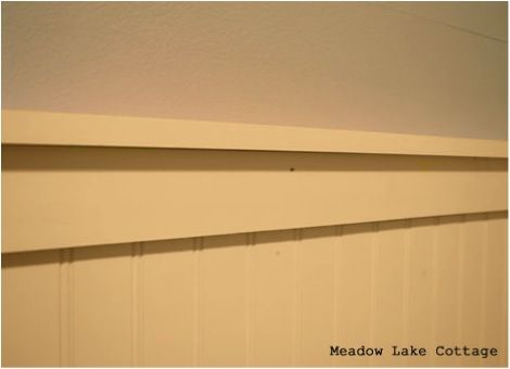 Fix It Wednesday Adding Interest To A Small Bedroom With Beadboard By Meadowlakeroad