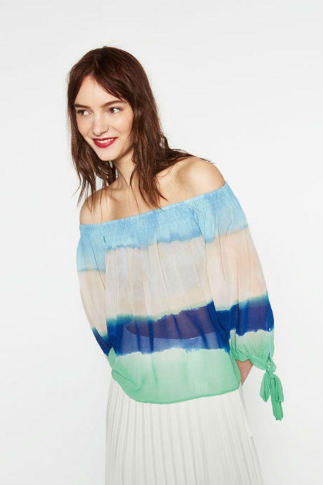 ¿Copia?¿Clon? Si te enamoraste de las prendas tie-dye de Chloé, ZARA se inspira en esta tendencia.  #Modalia | http://www.modalia.es/marcas/11343-zara-coleccion-tie-dye-chloe.html  #zara #chloe #tiedye