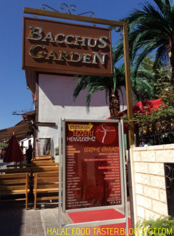 Bacchus Garden Hamamonu Ankara Halal Food Taster Halal Recipes Bacchus Halal
