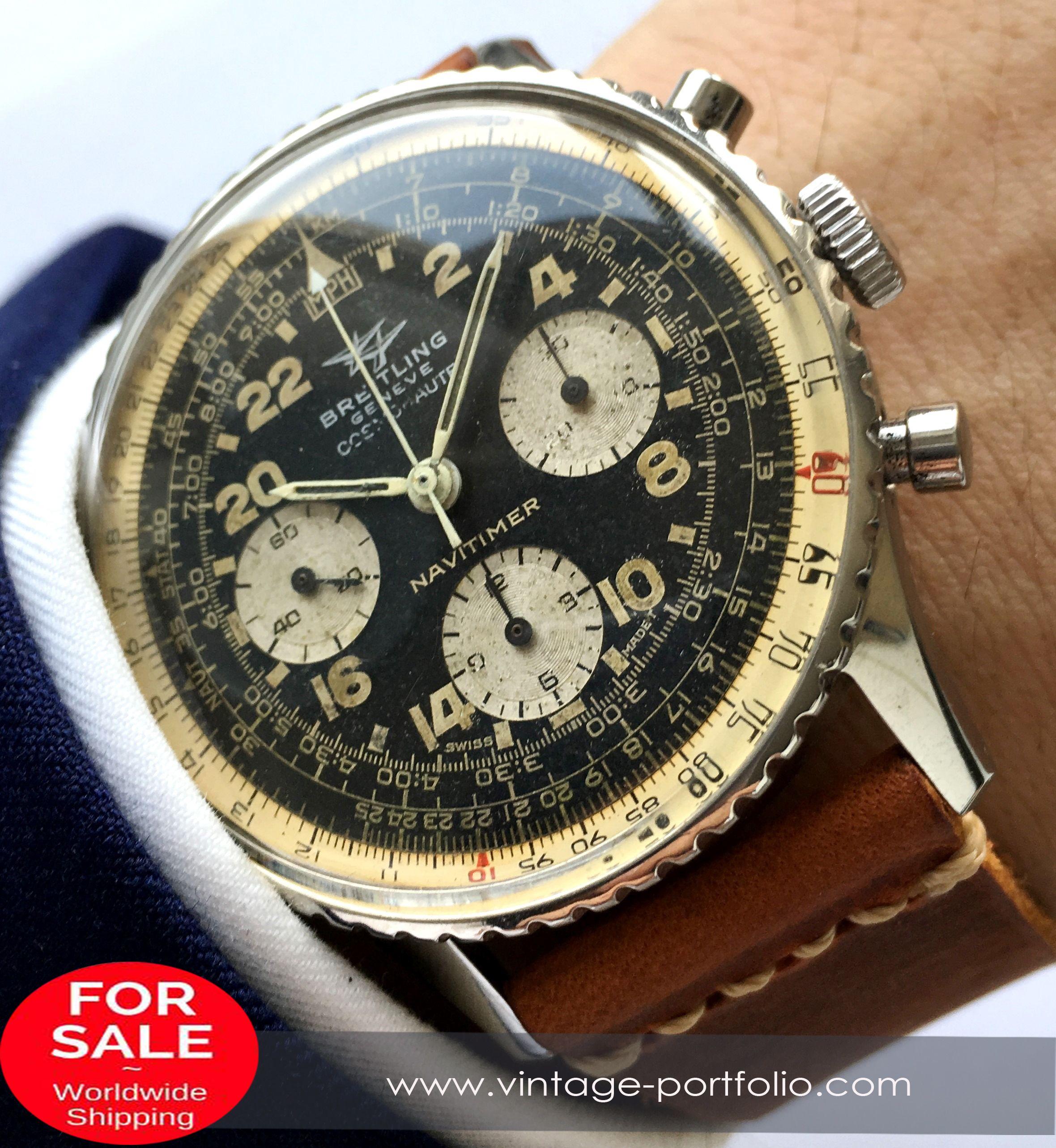 9836939426d Original Breitling Old Navitimer Cosmonaute ref 809 Vintage  breitling   breitlingwatches  luxurywatchbrand  militarywatches