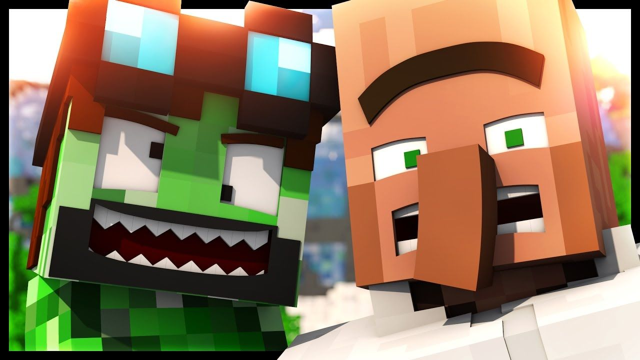 DanTDM Animated  HOW TO BE A CREEPER!!! (Minecraft Animation