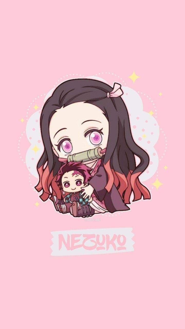 Nezuko Chibi Wallpaper Anime Wallpaper Cute Anime Wallpaper