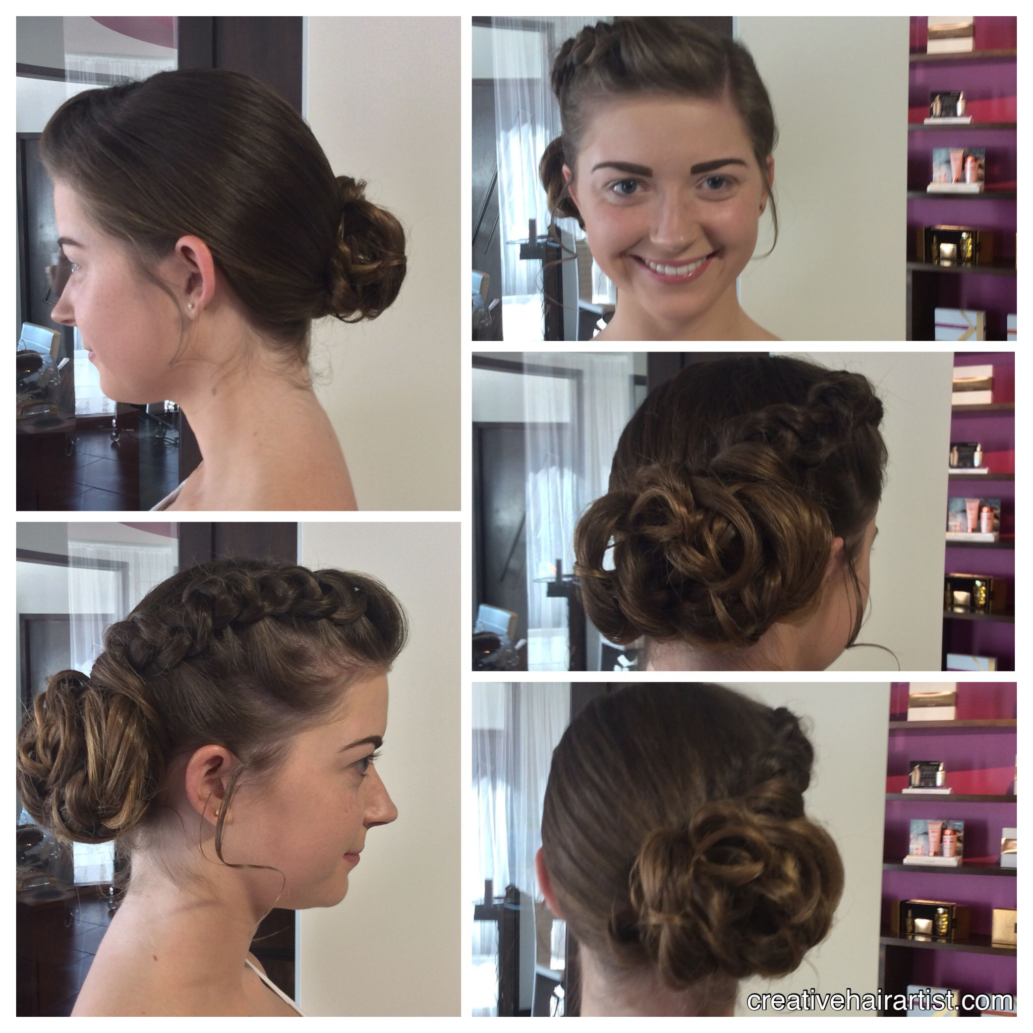 My gorgeous client is #Homecoming ready!!! #Updo #creativehairartist #beautybydarlene