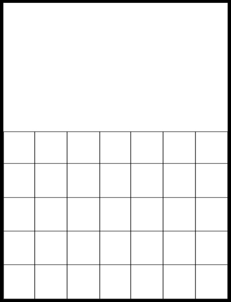Free Printable Blank Calendar Grids  Schooling At Home