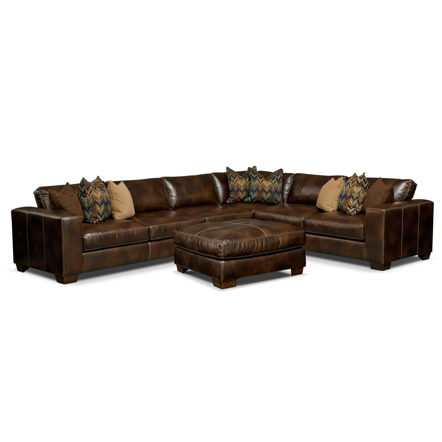Montez 4 Pc. Sectional And
