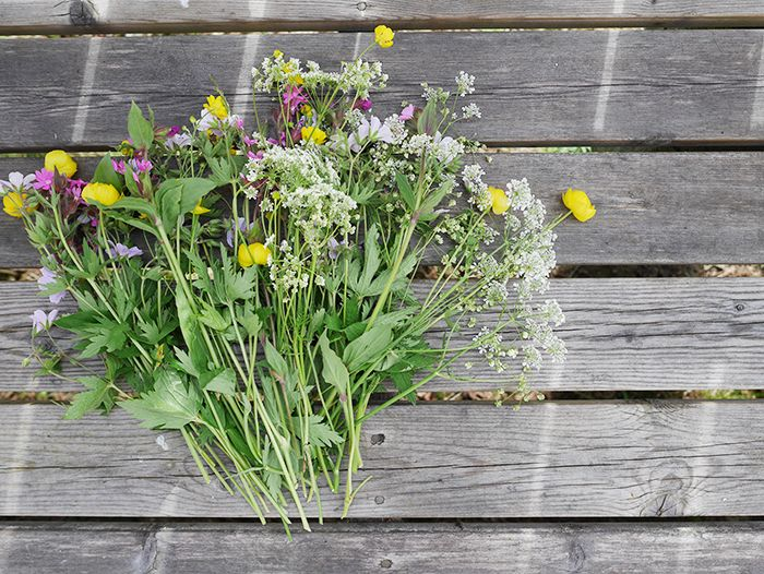 Blumenkranz Binden Für Mittsommer ( Step-by-Step-Anleitung