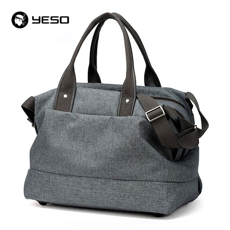 YESO Casual Handbags Tote Travel Duffle Bag 14 15.6 17 Inch Laptop  Messenger Shoulder Bags Famous Brand Waterproof Women Bag Men   LeatherHandbagsHandMade 7d84f8a4f4