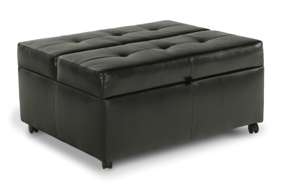 bob o pedic gel sleeper ottoman ottomans twin beds and sleeper sofas. Black Bedroom Furniture Sets. Home Design Ideas