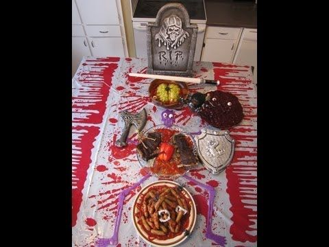 Halloween Party Ideas - Body Parts Halloween Theme Party   www - halloween decorations party