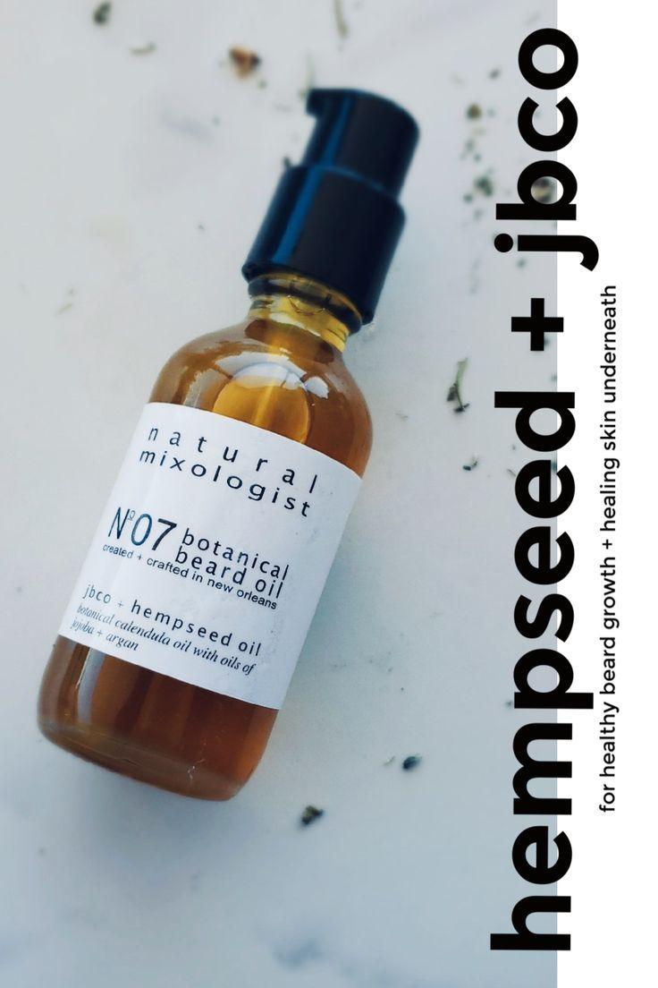 No. 7 Organic Beard Oil with Jamaican Black Castor Oil