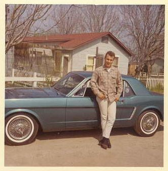 1960s Young Man With Mustang Vintage Car Photo By Christian Montone, Via  Flickr