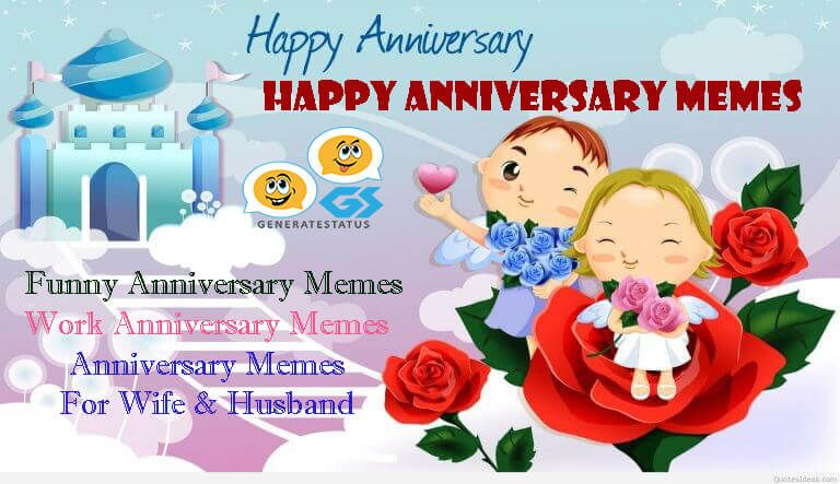 Happy Anniversary Meme For Wife, Husband and Loved Ones in