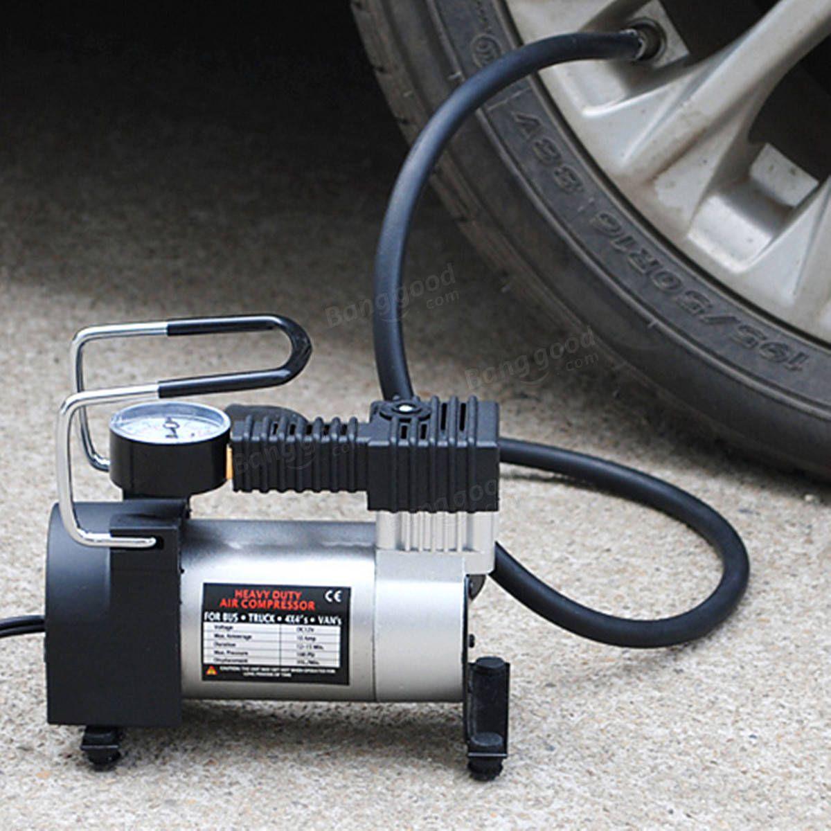 Electric 12V Car Auto Air Compressor Pump Tyre Tire