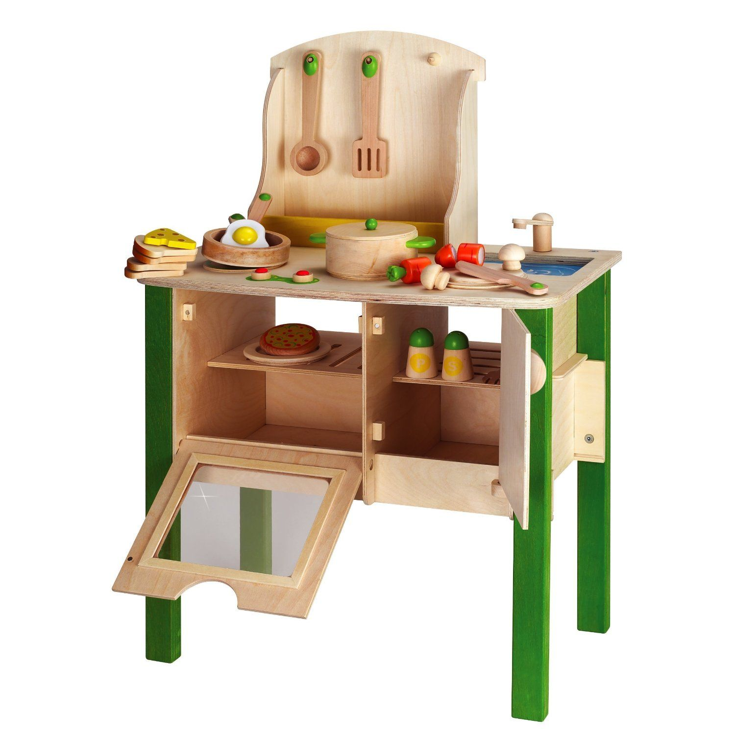Wooden Childrens Kitchen Sets, wooden play kitchen | Kids\' Play ...