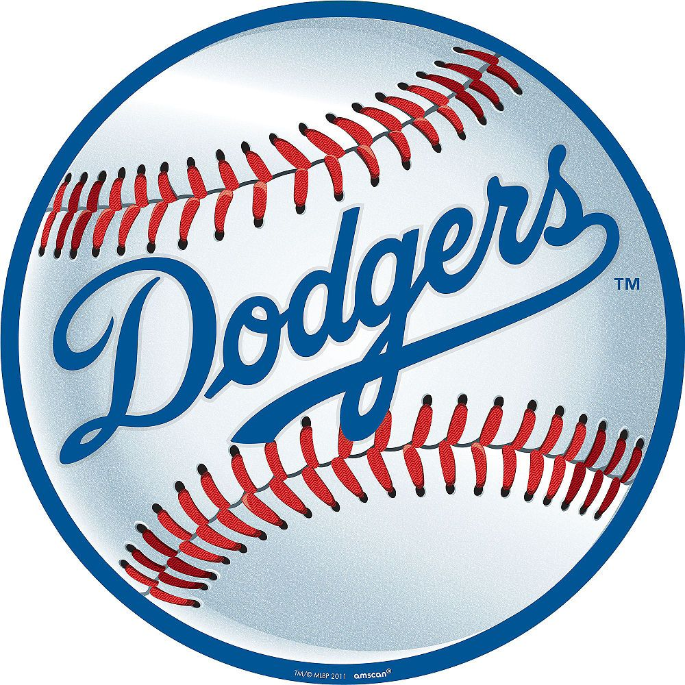 Los Angeles Dodgers Cutout 12in Los Angeles Dodgers Baseball Dodgers Baseball Dodgers