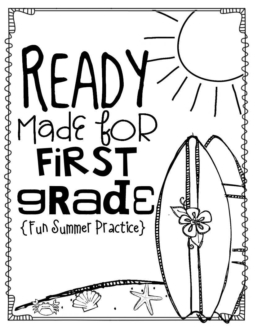 Kindergarten Summer Review: Ready Made for First Grade