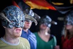 """""""Wir sind doch keine Barbaren!"""" von Philipp Löhle, Vaganten Bühne Berlin"""