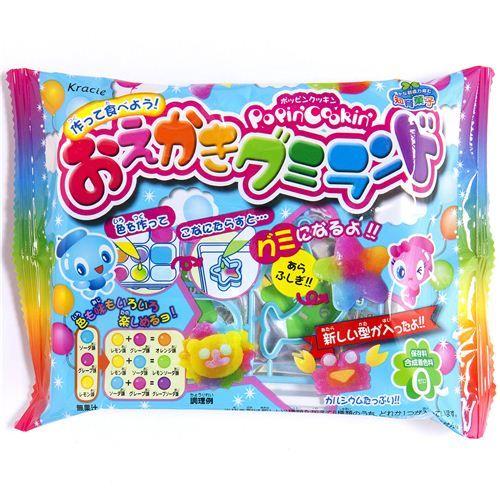 kracie popin 39 cookin 39 diy candy kit gummy animals diy japanese candy pinterest so cute. Black Bedroom Furniture Sets. Home Design Ideas