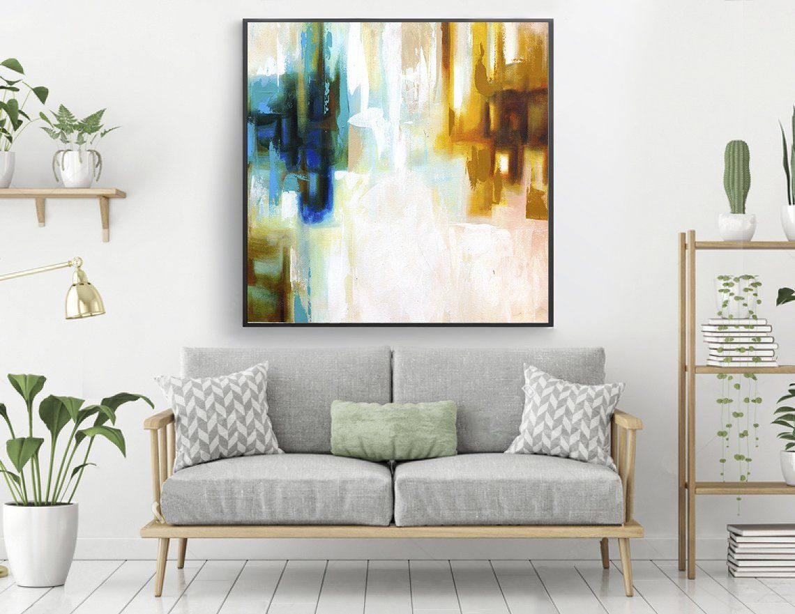 Extra Large Painting On Canvasoriginal Abstract