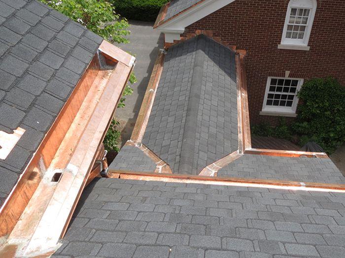 Vanaalst Lake Custom Copper Gutter Metal Roof Box Gutter Gutters