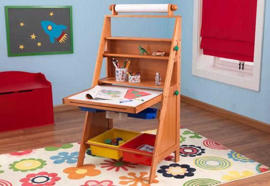 How Cool This Easel Turns Into A Desk Kids Furniture