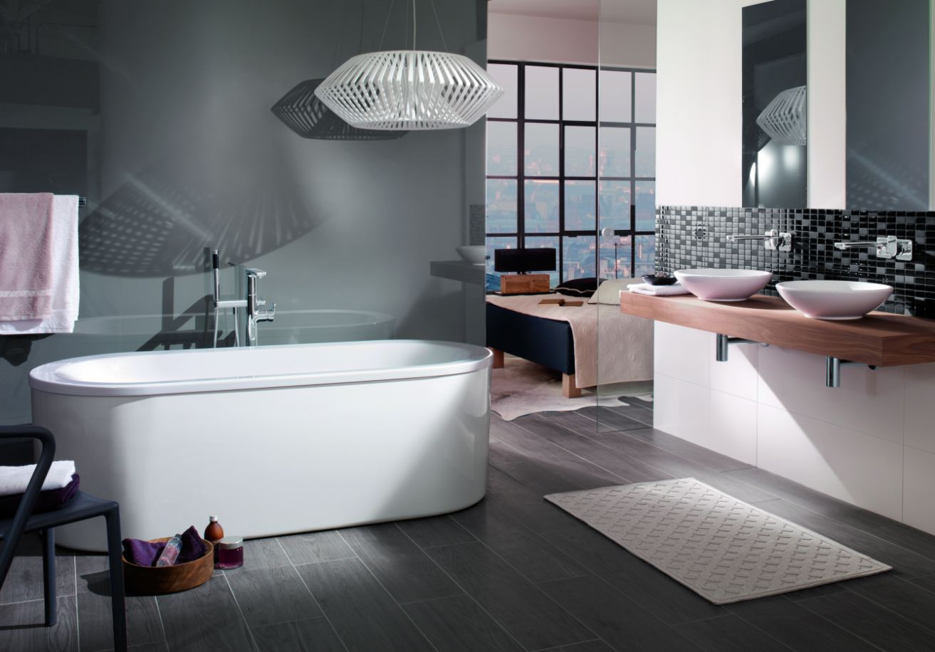 Kleine Wellness Badkamer : Villeroy & boch badkamer & wellness loop & friends u201cgoed design