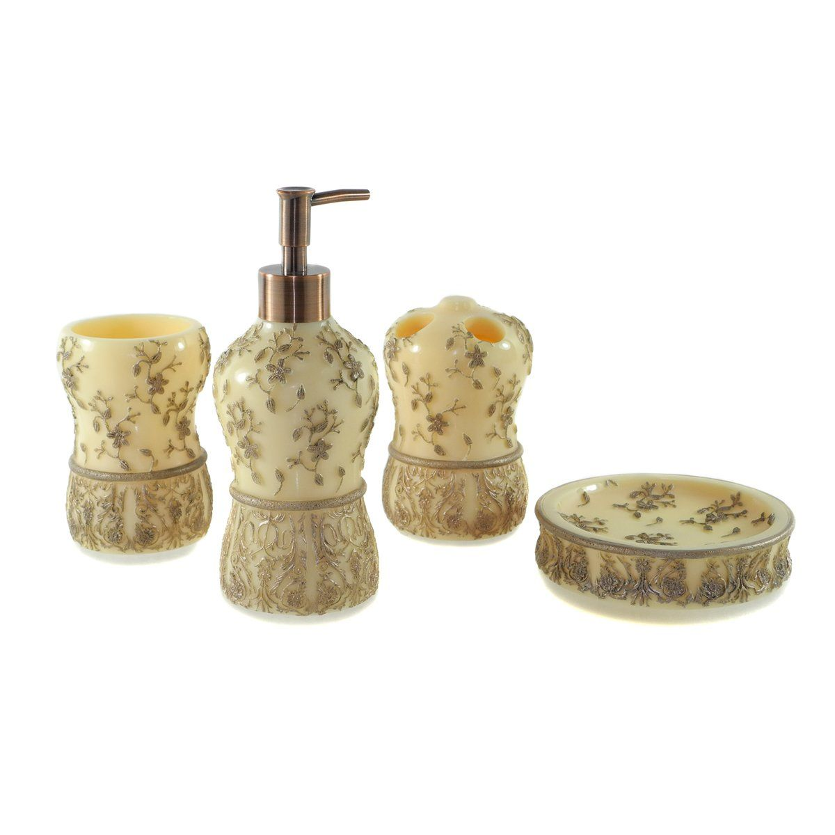 Dream Bath Oriental Phantom Bath Ensemble 4 Piece Bathroom ...