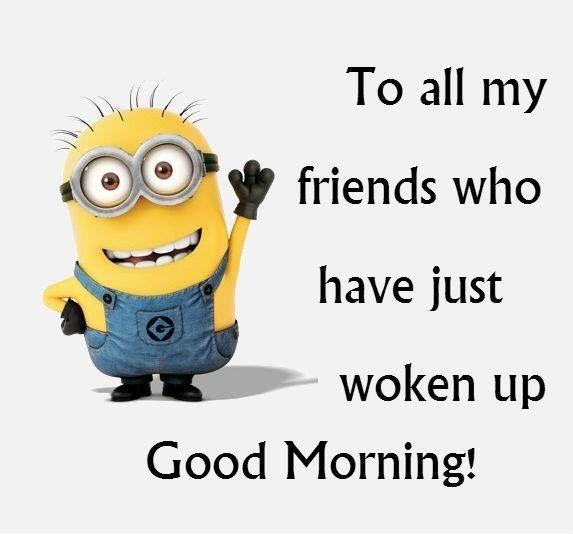 My Minion Friends | My Minion Friends | Minions, Morning