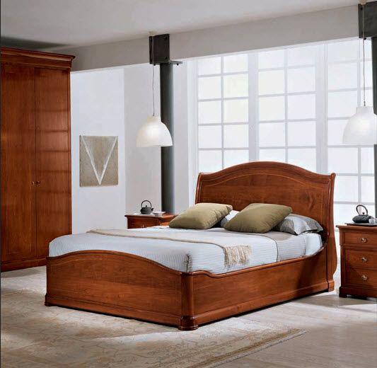 Camas clasicas de madera buscar con google muebles - Modelo de camas ...