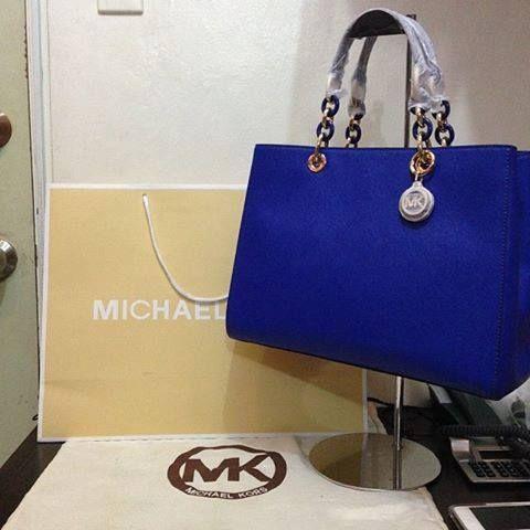 Mk Bag Royal Blue Handbags Michael Kors