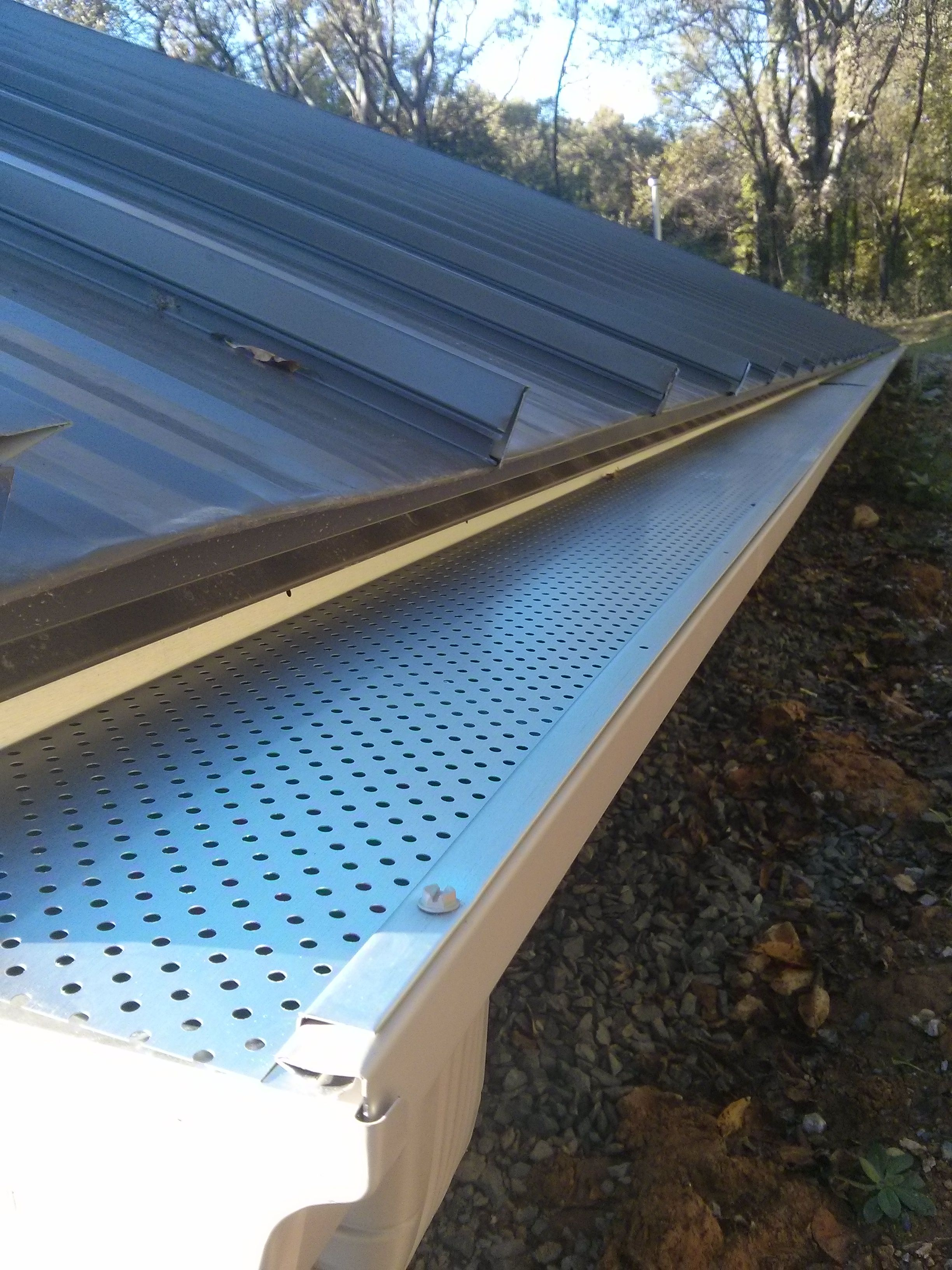 Leaf Guards Installed By Tn Seamless Gutters Seamless Gutters Gutters Leaf Guard