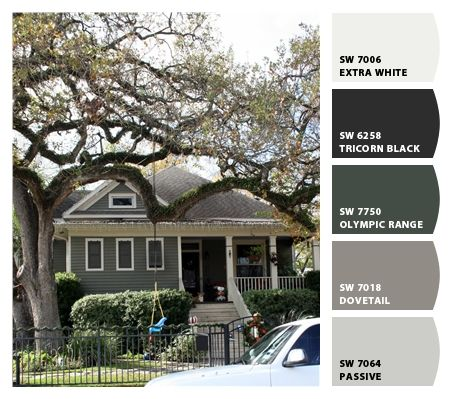 Our Exterior Paint Colors House Craftsman Home