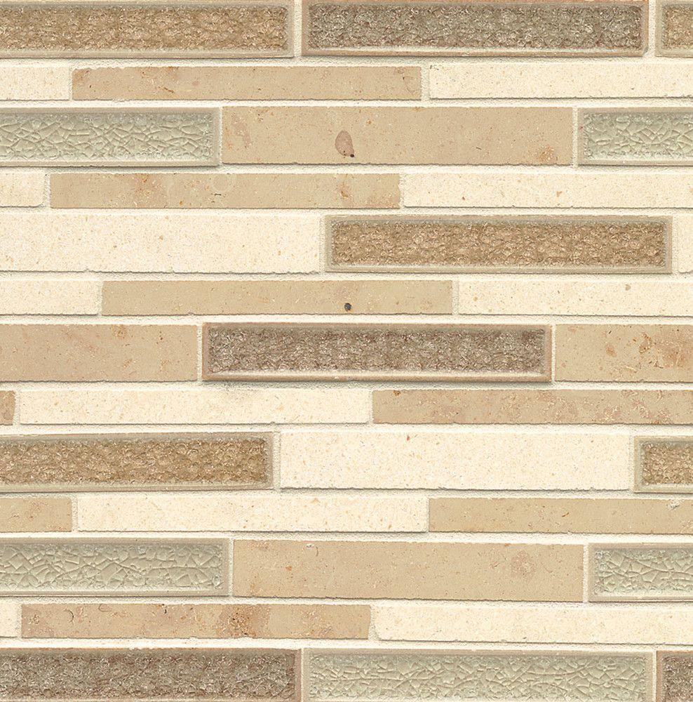 Decorative Stone Tile Kismet  Tan Decorative Mosaic  Deckisblerib  Bedrosians Tile