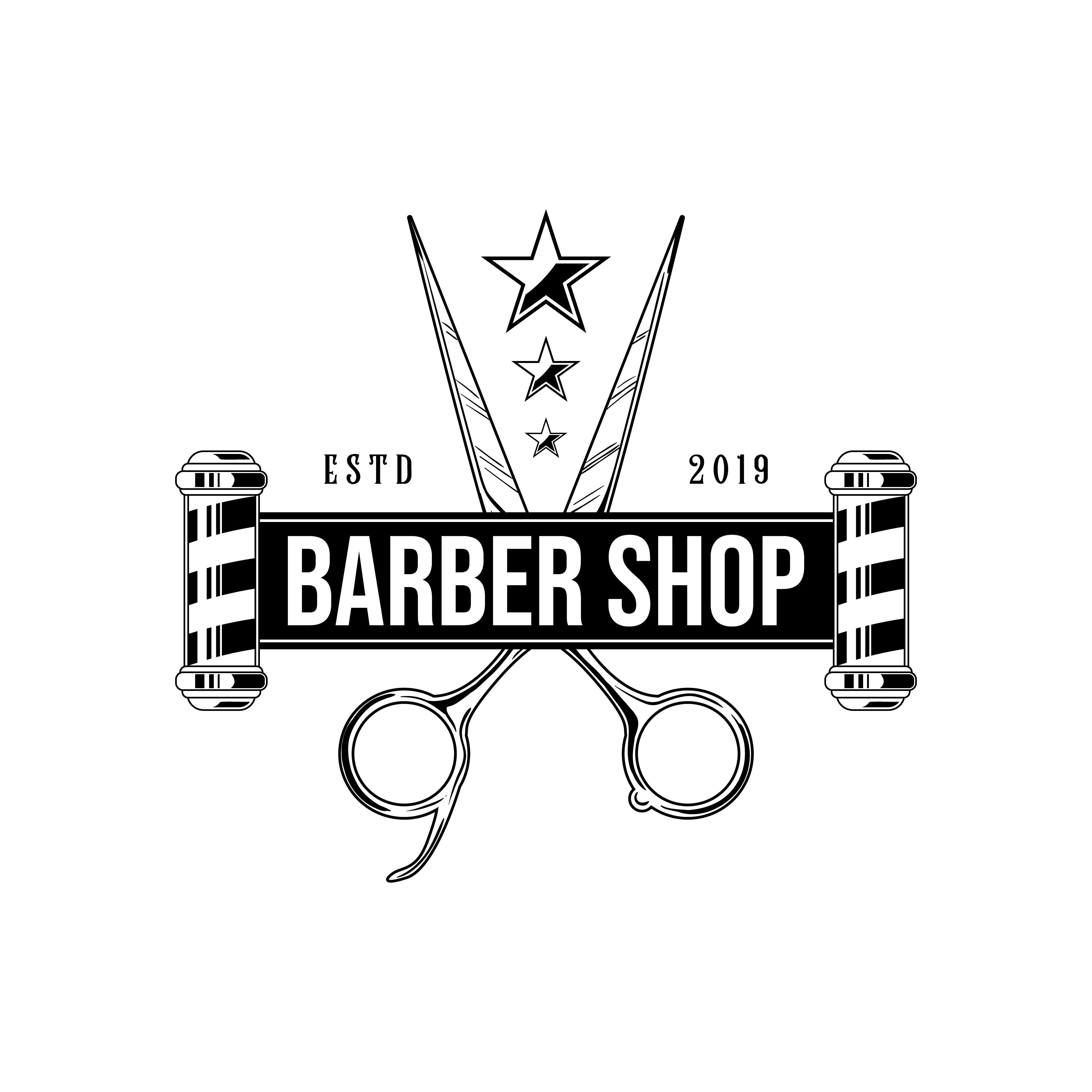 Barber Logo Barbershop Logo Vintage Barber Logo Barber Shop Vintage Barber Shop