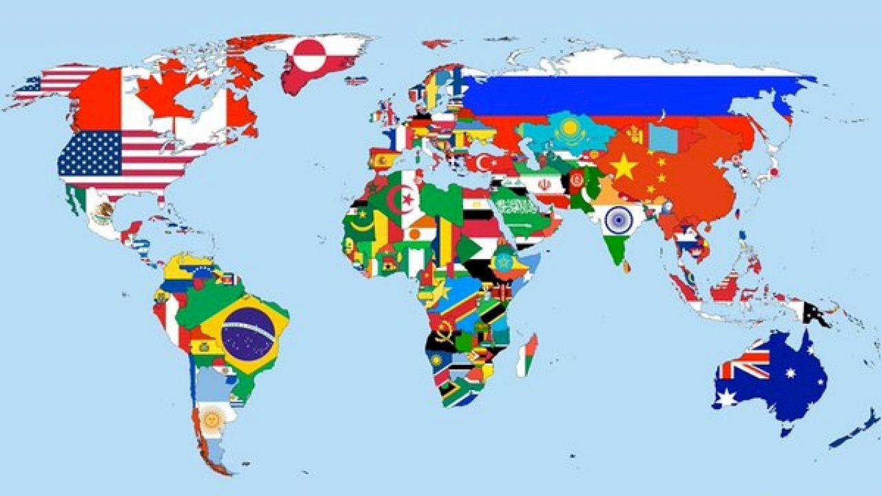 ما هو عدد دول قارة أفريقيا Custom License Plate Custom Map Geography