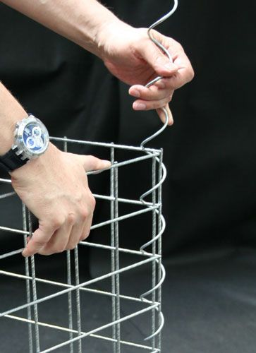Instructions for constructing Gabion baskets